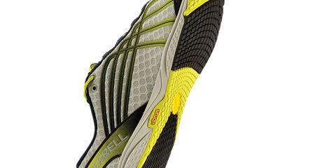 Yellow, Line, Black, Pattern, Grey, Synthetic rubber, Running shoe, Outdoor shoe, Graphics, Walking shoe,