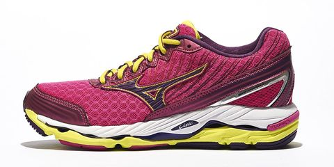 Footwear, Product, Yellow, Shoe, Magenta, White, Pink, Athletic shoe, Purple, Line,