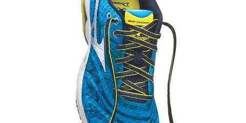 Musical instrument accessory, Running shoe, Teal, Aqua, Azure, Electric blue, Grey, Turquoise, Walking shoe, Synthetic rubber,