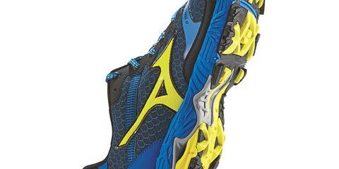 Yellow, Athletic shoe, Running shoe, Azure, Aqua, Electric blue, Grey, Sneakers, Walking shoe, Outdoor shoe,