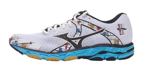 Footwear, Product, Shoe, Sportswear, Athletic shoe, White, Line, Sneakers, Logo, Running shoe,