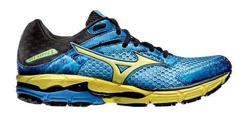 Footwear, Blue, Product, Shoe, Athletic shoe, Sportswear, White, Sneakers, Logo, Aqua,