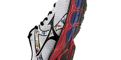 Athletic shoe, Font, Running shoe, Carmine, Grey, Sneakers, Walking shoe, Maroon, Synthetic rubber, Outdoor shoe,