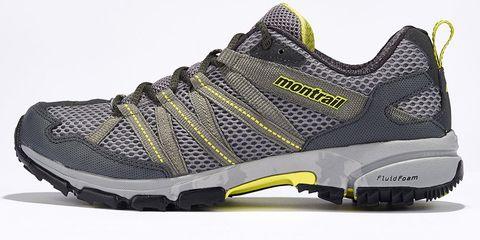 Footwear, Product, Shoe, Yellow, Sportswear, Athletic shoe, White, Running shoe, Line, Sneakers,