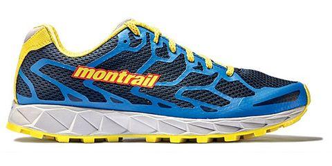 Footwear, Blue, Product, Yellow, Shoe, Sportswear, Athletic shoe, White, Line, Aqua,