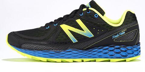Footwear, Blue, Product, Shoe, Yellow, Green, Sportswear, Athletic shoe, White, Line,
