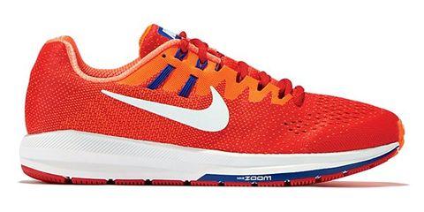Footwear, Shoe, Product, Sportswear, Red, White, Sneakers, Line, Athletic shoe, Orange,