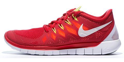 Footwear, Product, Shoe, Red, White, Sportswear, Line, Sneakers, Athletic shoe, Orange,