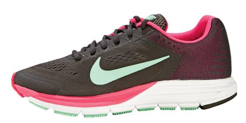 Footwear, Product, Shoe, Magenta, White, Red, Pink, Sportswear, Athletic shoe, Line,