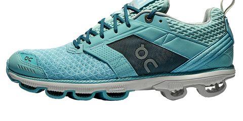 Footwear, Blue, Product, Green, Athletic shoe, Shoe, White, Sportswear, Teal, Aqua,