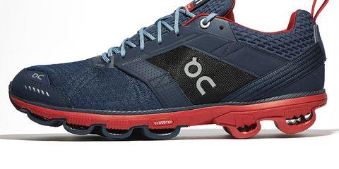 Footwear, Blue, Product, Shoe, Athletic shoe, Sportswear, Red, White, Light, Sneakers,