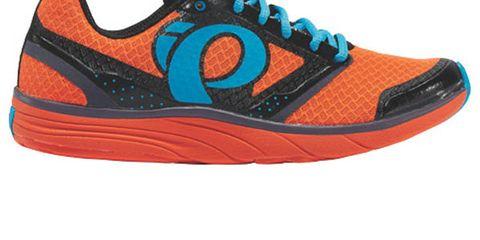 Footwear, Product, Shoe, Sportswear, Orange, Athletic shoe, White, Red, Line, Sneakers,