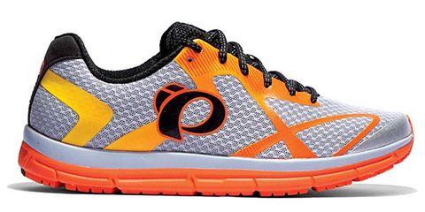 Footwear, Product, Shoe, Orange, White, Sportswear, Athletic shoe, Line, Pattern, Tan,