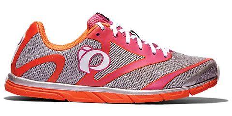 Footwear, Product, Shoe, Sportswear, Athletic shoe, Red, White, Orange, Line, Sneakers,