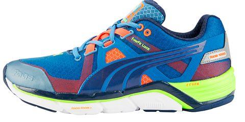 Footwear, Blue, Shoe, Product, Sportswear, Athletic shoe, White, Sneakers, Aqua, Line,