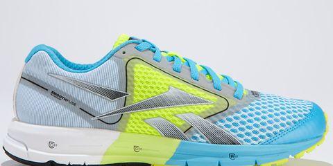 Footwear, Blue, Product, Shoe, Yellow, Green, White, Athletic shoe, Sportswear, Aqua,
