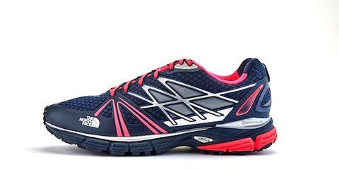 Shoe, Athletic shoe, Logo, Carmine, Sneakers, Grey, Walking shoe, Brand, Bicycle shoe, Outdoor shoe,