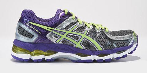 Footwear, Product, Shoe, Sportswear, Athletic shoe, Purple, White, Violet, Sneakers, Line,