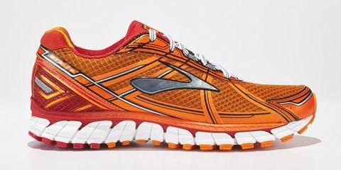 Footwear, Product, Brown, Shoe, Orange, White, Sportswear, Athletic shoe, Line, Sneakers,