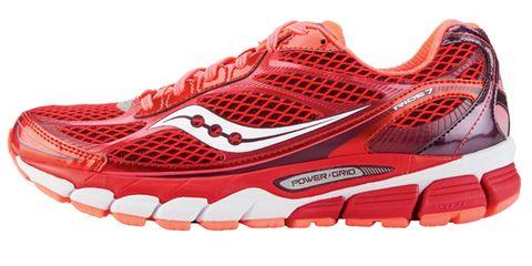 Footwear, Product, Sportswear, Athletic shoe, Red, White, Line, Orange, Sneakers, Carmine,