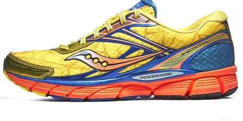 Footwear, Product, Shoe, Yellow, Athletic shoe, Sportswear, White, Sneakers, Orange, Line,