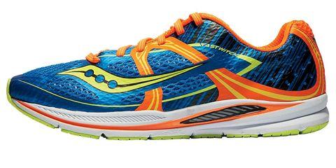 Footwear, Product, Athletic shoe, White, Orange, Sportswear, Line, Sneakers, Logo, Carmine,