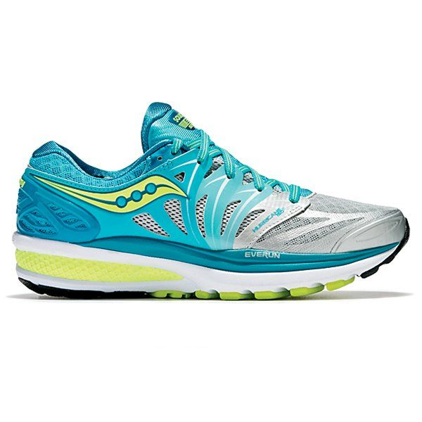 Saucony Women's Hurricane ISO 2 Running Shoes PinkBlueAqua Blue
