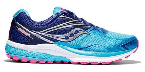 Footwear, Blue, Product, Shoe, Athletic shoe, Sportswear, White, Pink, Aqua, Teal,