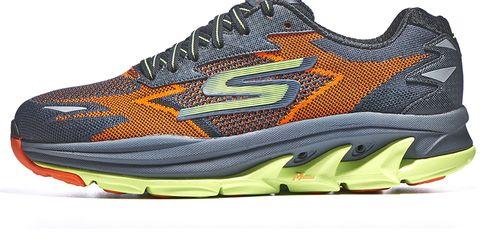 Footwear, Product, Sportswear, Shoe, Athletic shoe, White, Orange, Running shoe, Line, Sneakers,