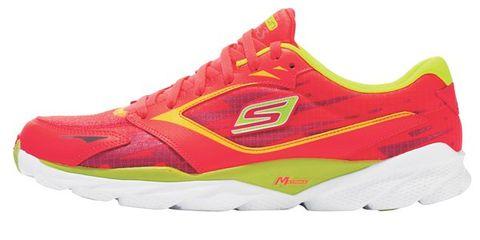 Footwear, Product, Sports equipment, Shoe, Sportswear, Athletic shoe, White, Red, Logo, Sneakers,