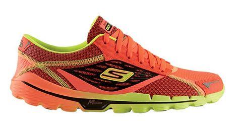 Footwear, Product, Athletic shoe, Sportswear, Orange, Red, Line, Sneakers, Carmine, Tan,