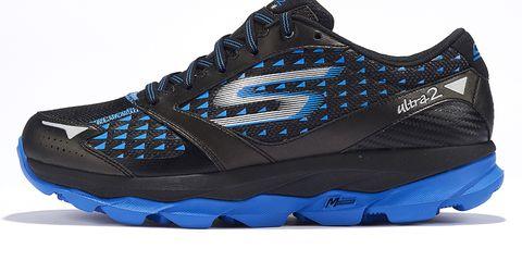 Footwear, Blue, Product, Shoe, Athletic shoe, Sportswear, White, Sneakers, Light, Electric blue,