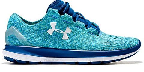 Footwear, Blue, Shoe, Product, White, Aqua, Athletic shoe, Teal, Sneakers, Logo,