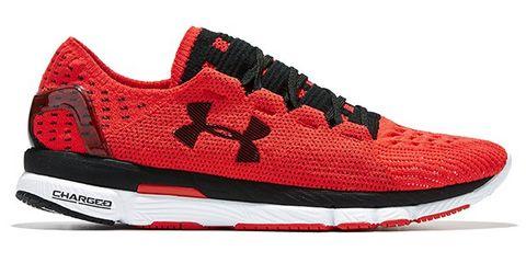 Footwear, Product, Shoe, Sportswear, Red, White, Athletic shoe, Sneakers, Line, Logo,