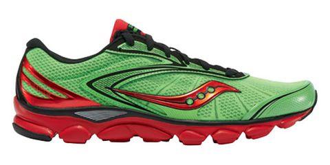 Footwear, Product, Green, Sportswear, Athletic shoe, White, Red, Logo, Carmine, Fashion,