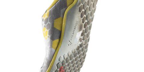 Yellow, Grey, Synthetic rubber, Bicycle saddle, Nike free, Outdoor shoe, Walking shoe,