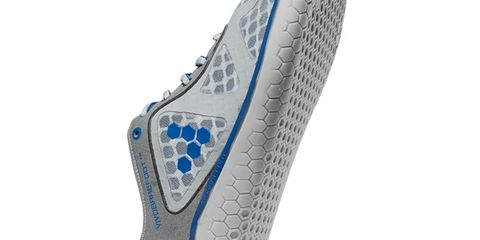 Blue, Azure, Synthetic rubber, Grey, Silver, Foot,