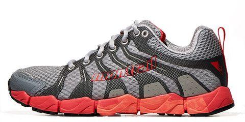 Footwear, Product, Shoe, Sportswear, Athletic shoe, Running shoe, White, Red, Sneakers, Orange,