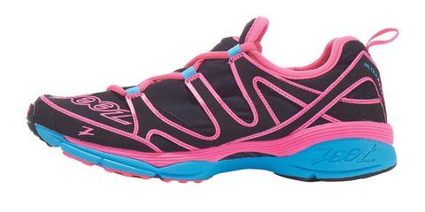 Footwear, Product, Shoe, Athletic shoe, White, Magenta, Pink, Sneakers, Logo, Carmine,