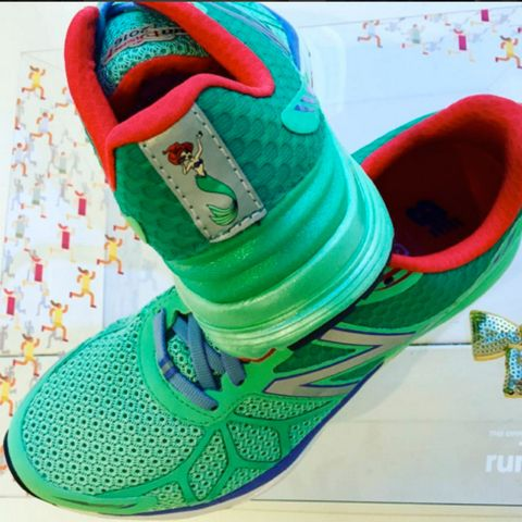 runDisney New Balance collection shoes