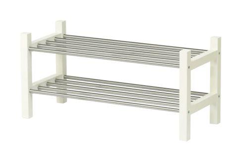 Line, Outdoor furniture, Outdoor bench, Rectangle, Parallel, Bench, Hardwood, Metal, Steel, Street furniture,