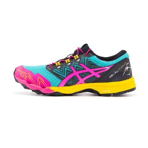 asics hardloopschoenen schoenen sportschoenen kleurrijk damesschoenen