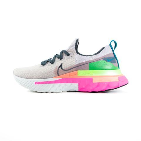 nike hardloopschoenen schoenen sportschoenen regenboog kleurrijk damesschoenen flyknit
