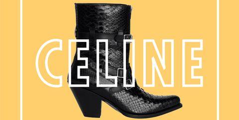 Footwear, Boot, Font, Shoe, Text, Yellow, Brand, Cowboy boot, Logo, Riding boot,