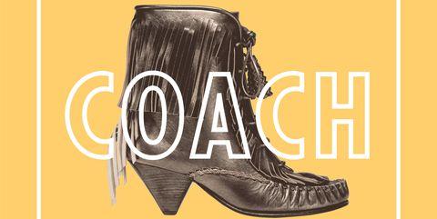 Footwear, Font, Text, Shoe, Logo, Boot, Yellow, Illustration, Graphic design, Cowboy boot,
