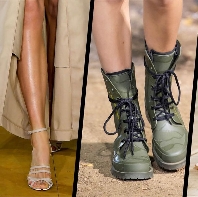 Spring Summer 2020 Footwear Trends.The Best Shoes And Sandals From The Spring Summer 2020 Catwalks