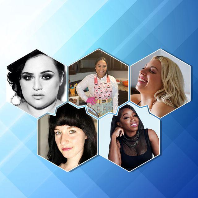 5 women who made major life changes nikki blonsky, gigi engle, khloe hines, estelle, and kenzie brenna