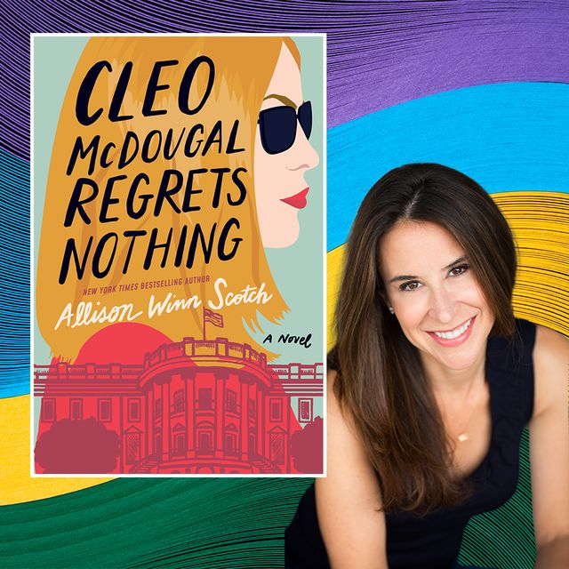 cleo mcdougal next to her book