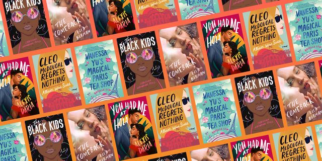 the 5 best books for augst including the black kids, you had me at hola, cleo mcdougal regrets nothing, vanessa yu's magical paris tea shop, the comeback