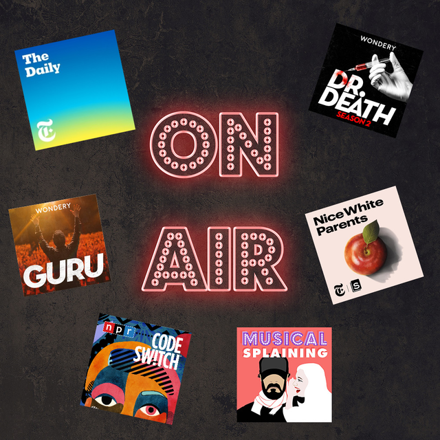 best podcasts of 2020 the daily, dr death, nice white parents, musicalsplaining, code switch, guru